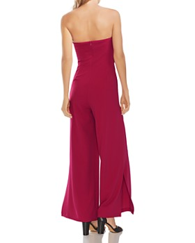 VINCE CAMUTO - Strapless Wide-Leg Jumpsuit