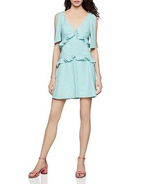 Bcbgeneration Dresses TIE-SHOULDER STRIPED DRESS