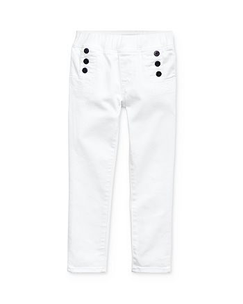 Ralph Lauren - Girls' Denim Leggings - Little Kid