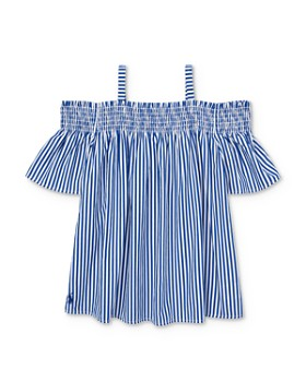 32873f70c Ralph Lauren - Girls  Striped Off-the-Shoulder Top - Big Kid