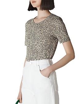 Whistles - Rosa Leopard-Print Tee