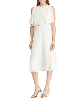 Ralph Lauren - Split-Sleeve Belted Dress