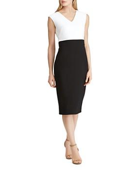 Ralph Lauren - Color-Block Dress