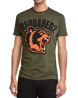 DSQUARED2 - Bear Logo Graphic Tee