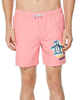 a4d0e29f82e46 Original Penguin Men's Designer Swimwear: Swim Trunks & Shorts ...