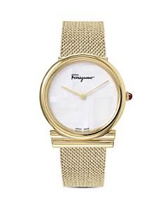 Salvatore Ferragamo - Gancini Slim Watch, 34mm