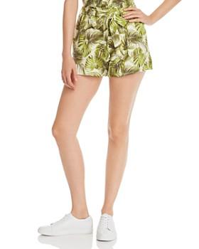 CHASER - Palm Print Shorts