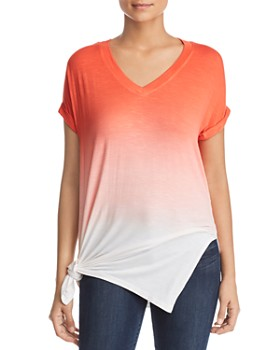 Kenneth Cole - Dip-Dyed Tunic Tee