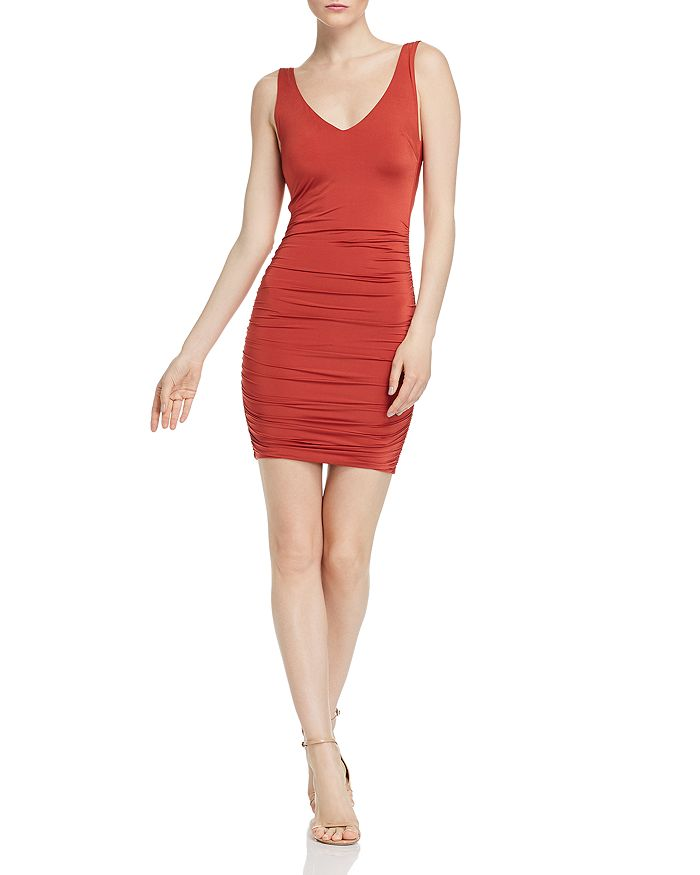 Tiger Mist - Stephanie Ruched Open-Back Dress - 100% Exclusive