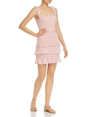 Laurel Ruffle Floral Dress by Parker