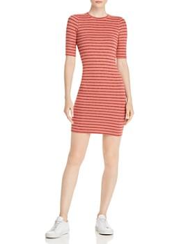 0ebe165139 Enza Costa - Striped Mini Dress ...