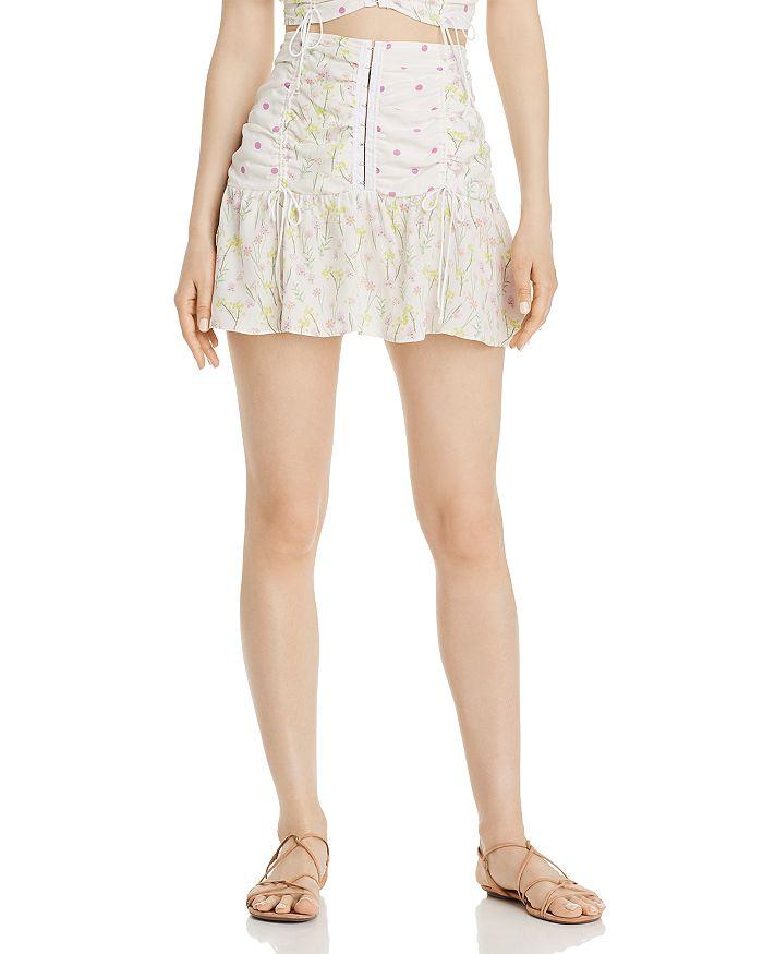 For Love & Lemons - Strudel Mini Skirt