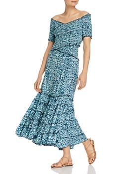 Poupette St. Barth - Soledad Off-the-Shoulder Maxi Dress