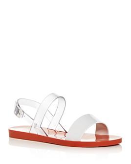 Melissa - Women's Lip Ad Slingback Sandals