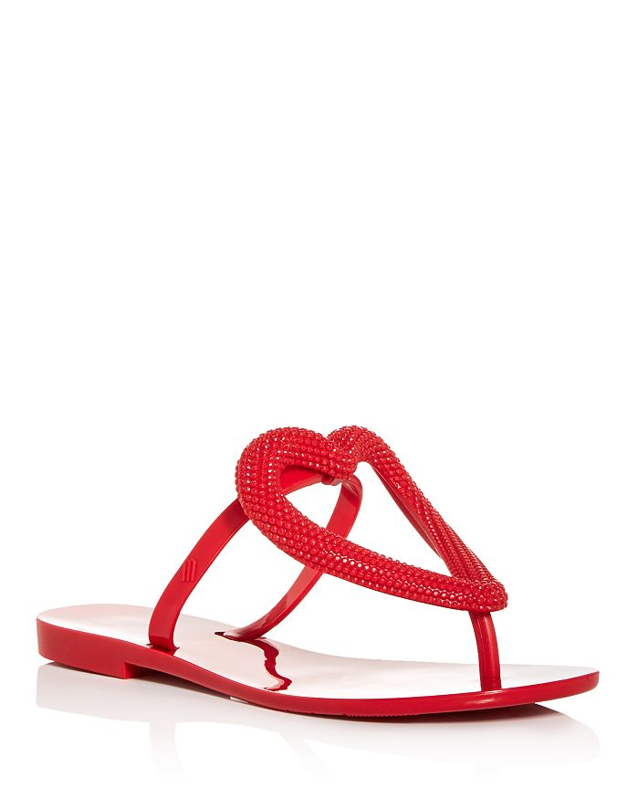 Melissa - Women's Big Heart Flip-Flops