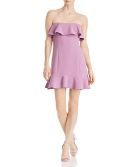Rachel Zoe - Elaina Strapless Mini Dress