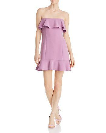 Rachel Zoe - Elaina Strapless Mini Dress