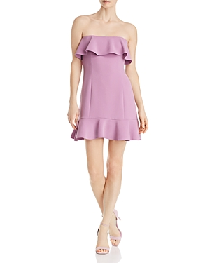 Rachel Zoe Elaina Strapless Mini Dress