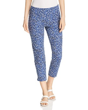 NIC and ZOE - Sun Shower Printed Cropped Pants