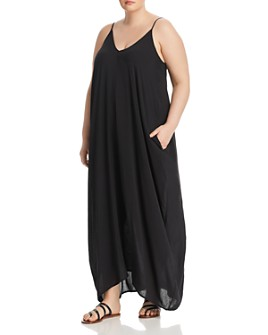 Elan Plus - Sleeveless V-Neck Maxi Dress