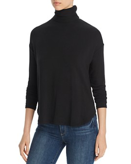 Majestic Filatures - French Terry Turtleneck
