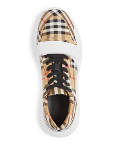 Burberry - Men's Regis Vintage Check Low-Top Sneakers
