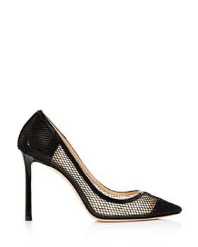 Jimmy Choo - Women's Romy 100 Mesh Pumps