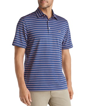 Vineyard Vines - South Hampton Sankaty Striped Classic Fit Jersey Polo Shirt