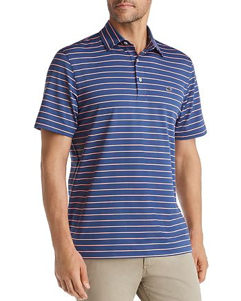 Vineyard Vines - South Hampton Sankaty Striped Classic Fit Jersey Polo Shirt