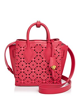 MCM - Milla Small Perforated Tote
