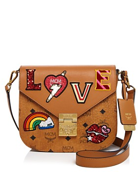 1d7253ebc MCM - Patricia Love Patch Visetos Saddle Bag ...