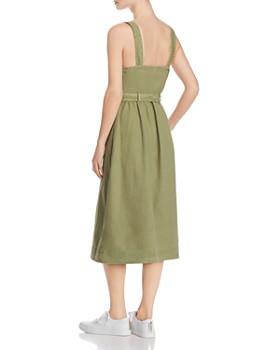 AG - Britta Belted Midi Dress