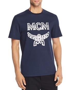 MCM - Metallic-Logo Appliqué Tee