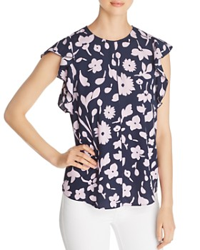 kate spade new york - Splash Floral Top