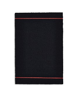 "Chilewich - Simple Stripe Indoor/Outdoor Shag Mat, 18"" x 28"""