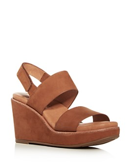 Gentle Souls by Kenneth Cole - Women's Hope Slingback Platform Wedge Sandals