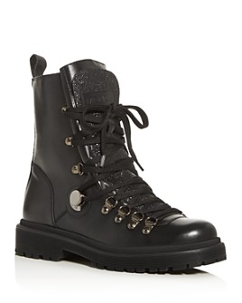Moncler - Women's Berenice Lug Sole Boots