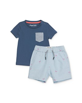 Sovereign Code - Boys' Pocket Tee & Shorts Set - Baby