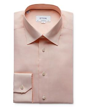 Eton - Textured Solid Regular Fit Dress Shirt