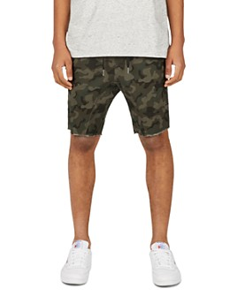 Zanerobe - Sureshot Camouflage-Print Slim Fit Cutoff Shorts
