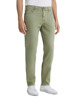 AG - Tellis Slim Fit Jeans in 7 Years Olivewood