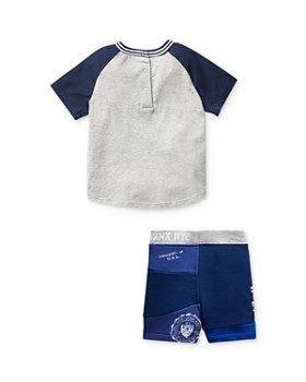 Ralph Lauren - Boys' Tee & Patchwork Shorts Set - Baby