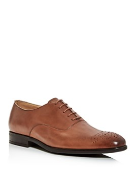 Paul Smith - Men's Brogue-Toe Leather Oxfords