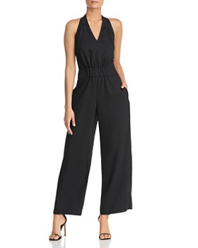 Kenneth Cole - Halter Wide-Leg Jumpsuit