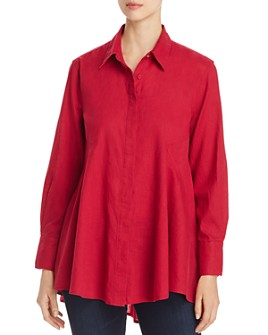 Donna Karan - High/Low Tunic Shirt