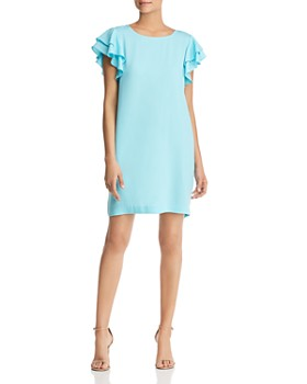 Le Gali - Cheryl Flutter-Sleeve Dress - 100% Exclusive