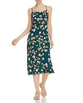 Flynn Skye - Lynn Floral-Print Midi Slip Dress