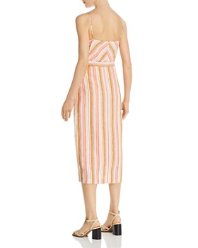 Joie - Khari Striped Midi Dress
