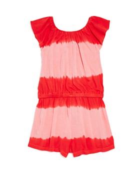 Splendid - Girls' Striped & Tie-Dyed Romper - Baby