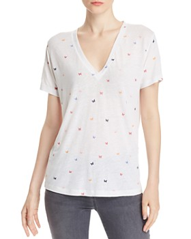Rails - Cara Butterfly Print Tee - 100% Exclusive